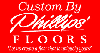 Phillips' Floors is pleased to introduce Custom by Phillips', a new line of prefinished flooring, custom crafted to your specifications!