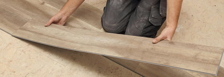 Vinyl floor installation
