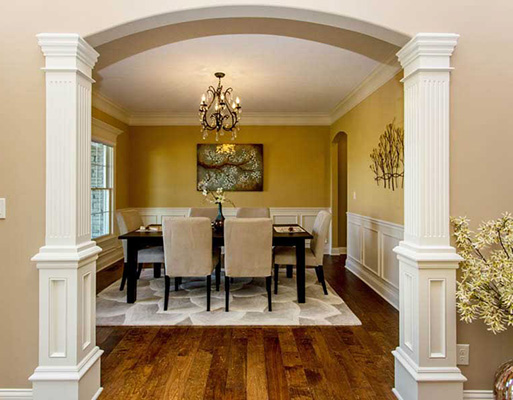 Hardwood flooring project completed by Phillips' Floors.